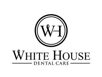 White House Dental Care logo design