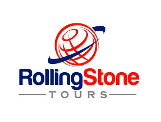 Rolling Stone Tours logo design