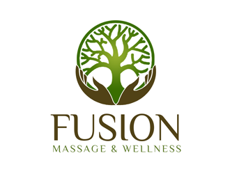 Fusion Massage & Wellness logo design