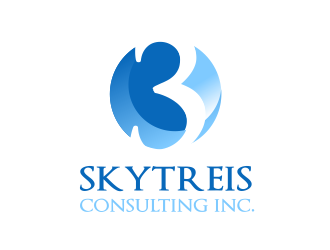skytreis consulting inc. logo design