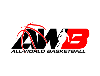All-World Basketball logo design