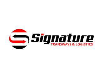 Signature Transways logo design