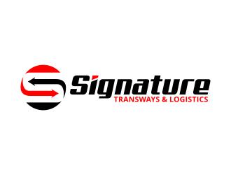 Signature Transways logo design
