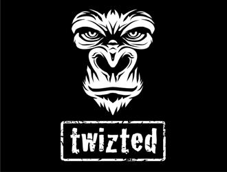 Twizted logo design