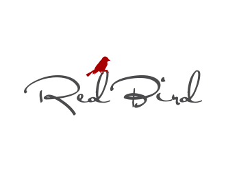 Red Bird Wines logo design