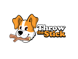 Throw The Stick logo design