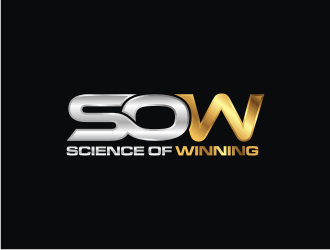 """Science Of Winning""  or ""Science Of Winning Podcast""  I'd like to see what it looks like with and without the word 'podcast' in it logo design"