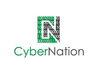 CyberNation logo design