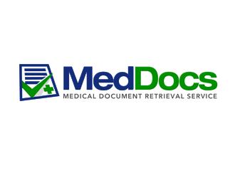 MedDocs logo design