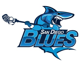 San Diego Blues logo design