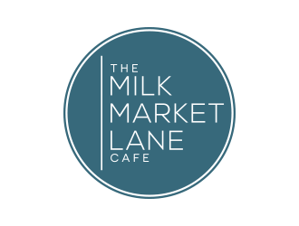 Milk Market Lane logo design