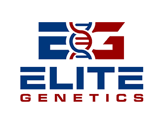 Elite Genetics logo design