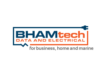 Bhamtech Data and Electrical logo winner