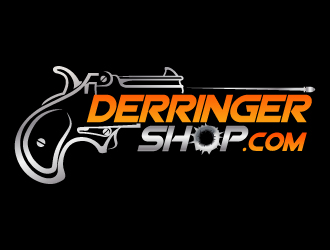 DerringerShop.com logo design