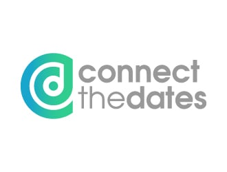 Connect the Dates logo design
