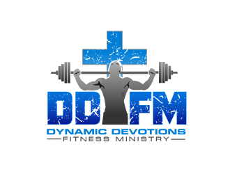 Dynamic Devotions Fitness Ministry (DDFM is the abbreviation... either one! :) ) Logo design