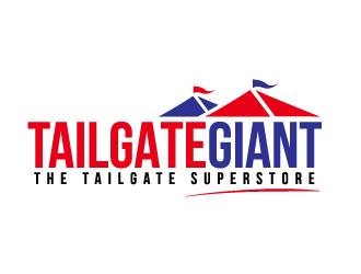 Tailgate Giant logo design