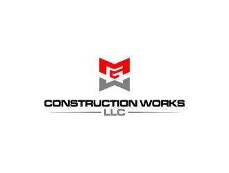 M G Construction Works LLC logo design