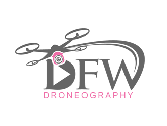 DFW Droneography logo design