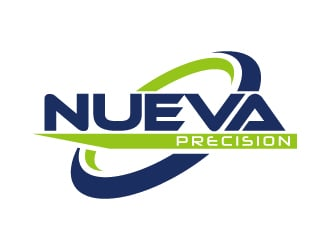 Nueva Precision logo design