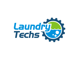 Laundry Techs logo design