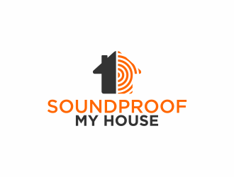 Soundproof My House logo design