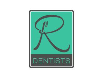 R Dentists logo design
