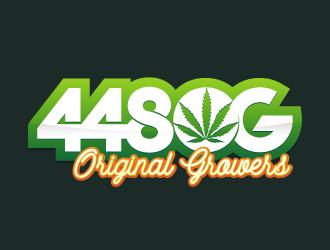 448 OG logo design
