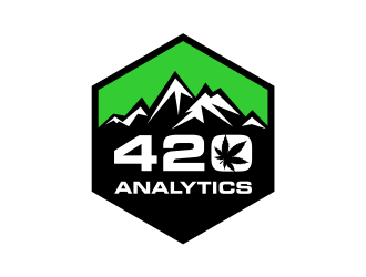 420 Analytics logo design