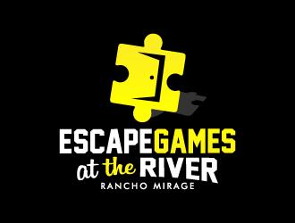 Escape Games Rancho Mirage logo design