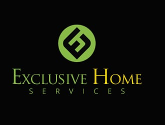 Exclusive Home Services logo design