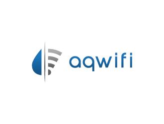 Aqwifi logo design