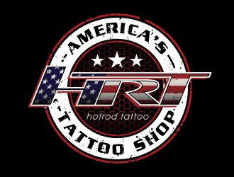 Hotrod Tattoo logo design