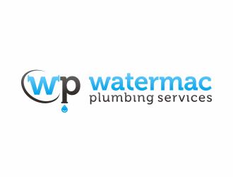 Watermac Plumbing Services logo design