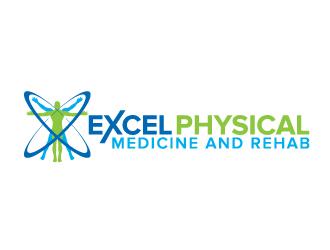 Excel Physical Medicine and Rehabilitation logo design