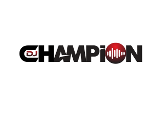 DJ Champion logo design