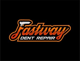 Fastway Dent Repair logo design