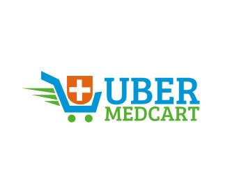 ÜberMedCart logo design