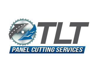 TLT Panel Cutting Services logo design