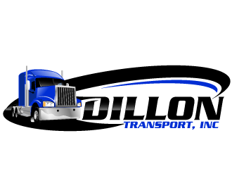 Dillon Transport, Inc. logo design
