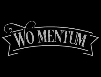 WO-MENTUM logo design
