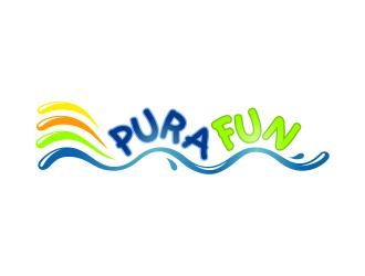 Pura Fun logo design