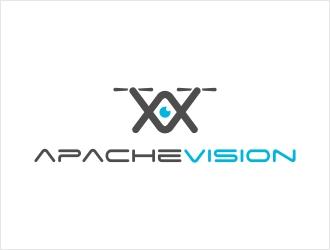Apache Vision logo design