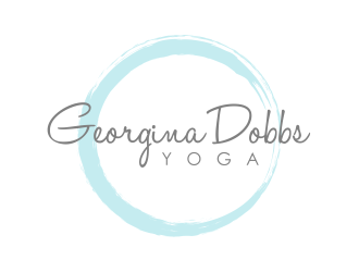 Georgina Dobbs Yoga logo design