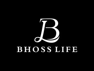 BHOSS LIFE logo design
