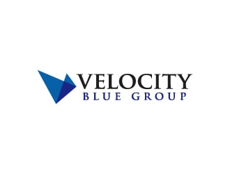 Velocity Blue Group logo design