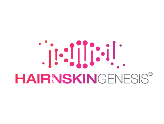 HairGenesis logo design