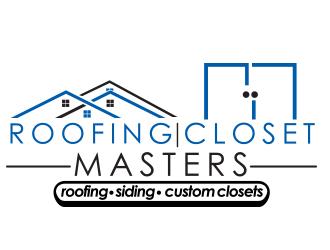 Roofing Masters.  Closet Masters. logo design