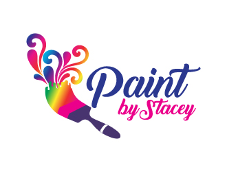 Painting Party logo design