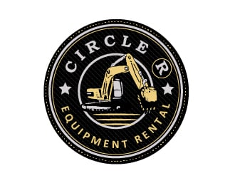 Circle R Equipment Rental logo design